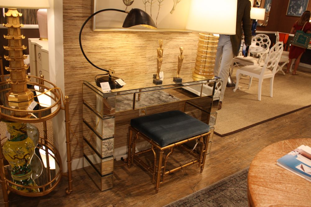 Makeup vanities are glamorous by nature and they're pretty similar to console tables, often being mistaken this way