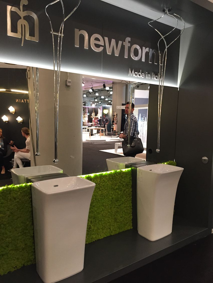 Newform, an Italian design company, produces these remarkable fixtures.