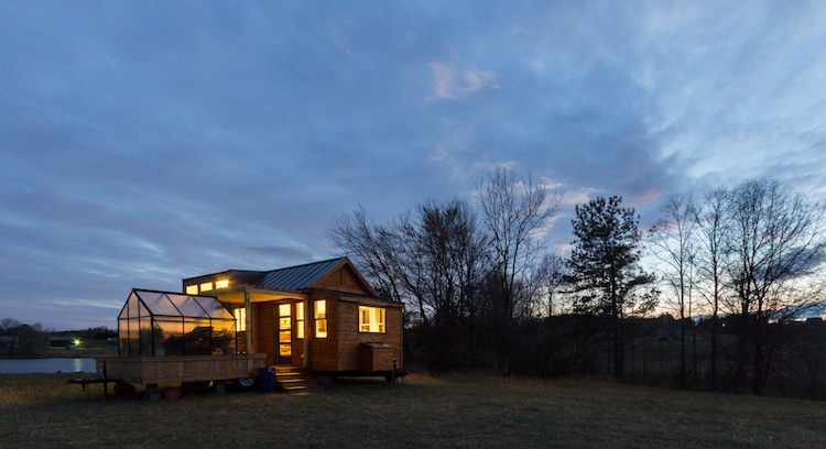 The advantage of a house on wheels is that you can transport it to all sorts of beautiful locations with gorgeous views