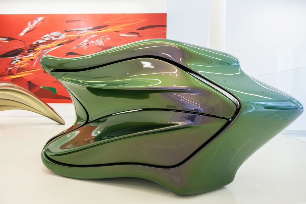 Organic design The Seamless Collection by Zaha Hadid Architects