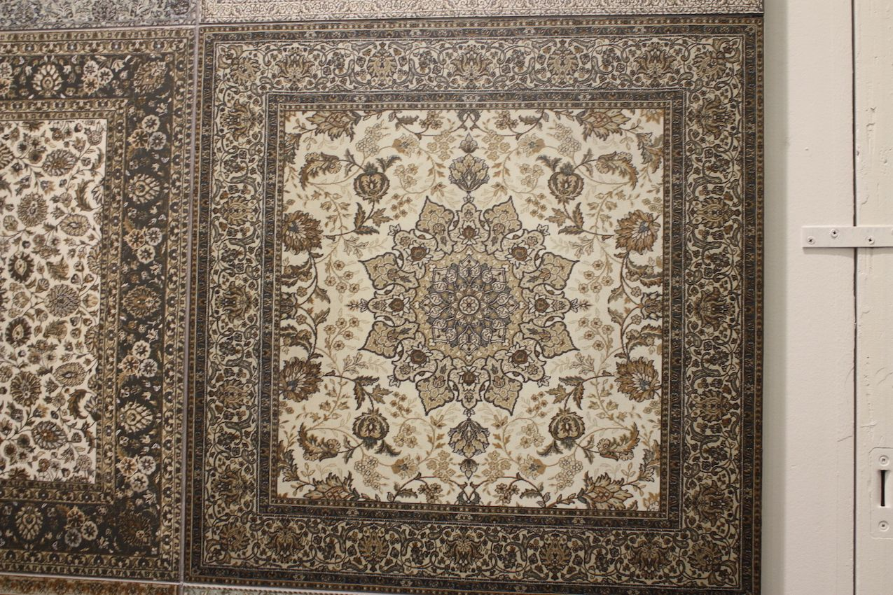 If a Persian motif is more your style, this one from Tilebar might be appealing.