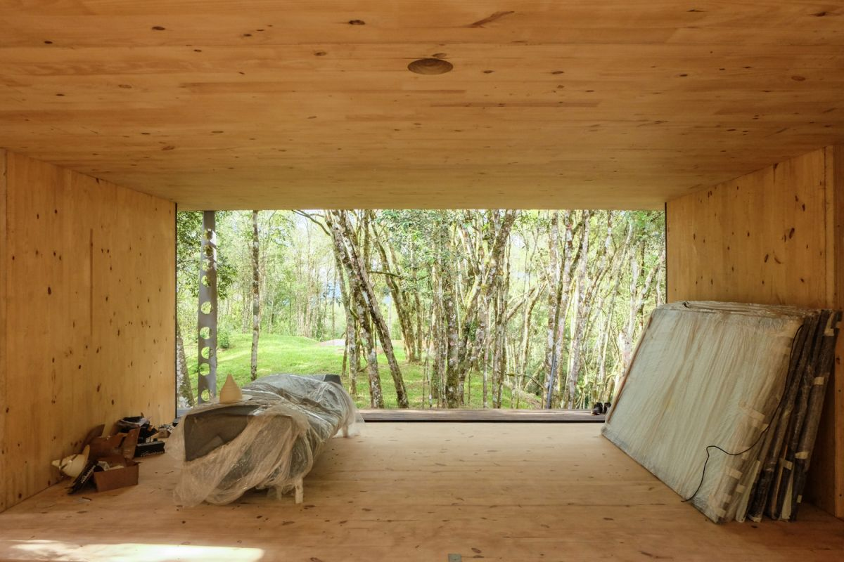 The installation was fast and easy and the impact on the site and its surroundings was minimal