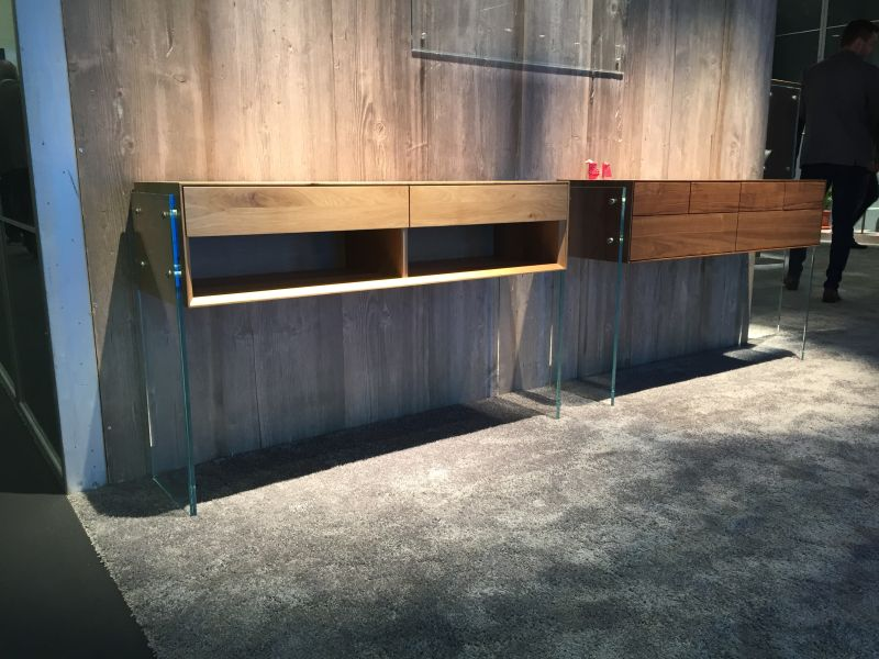 Sideboards with Glass Legs