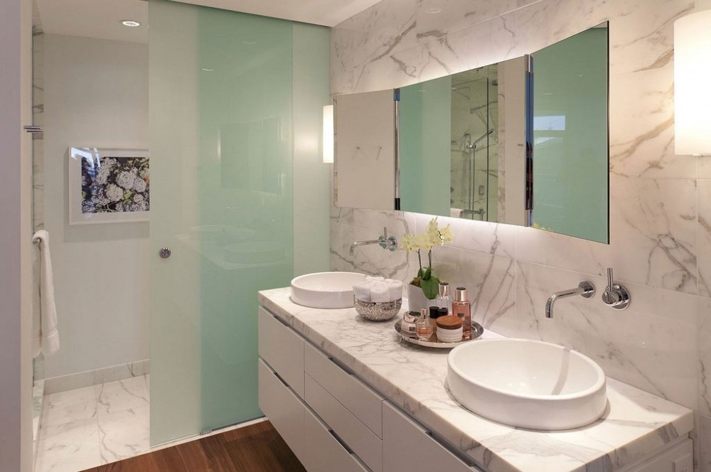 A few things to consider before using marble in your bathroom