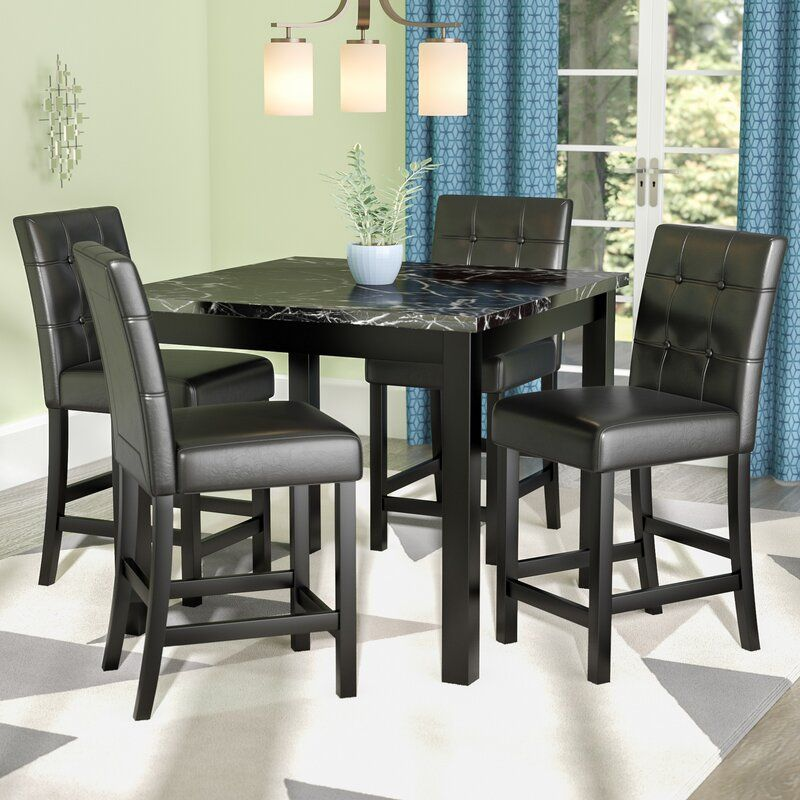 Sison 4 - Person Counter Height Dining Set