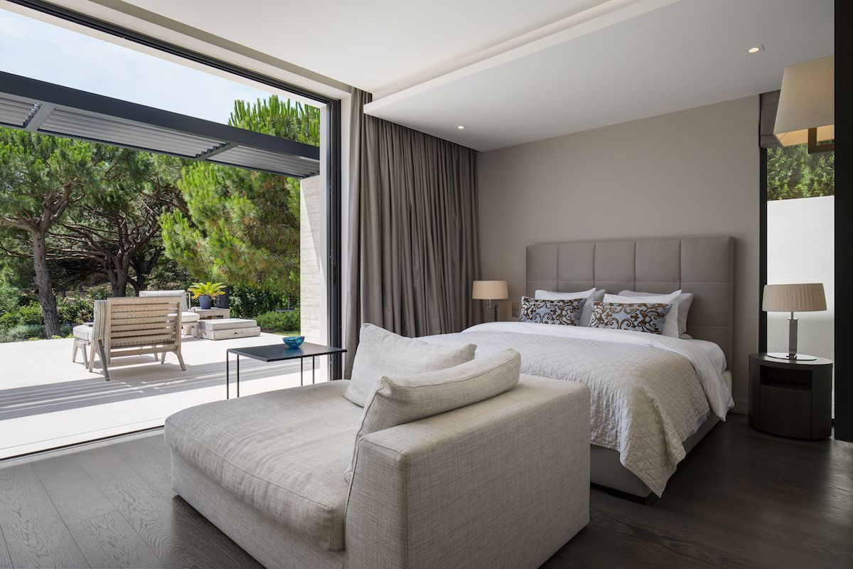 The bedrooms are open to the outdoors too. They're also cozy and intimate and have an increased level of privacy compared to the social zone