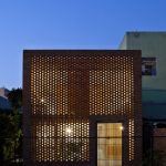 Stacked perforated bricks - Termitary House