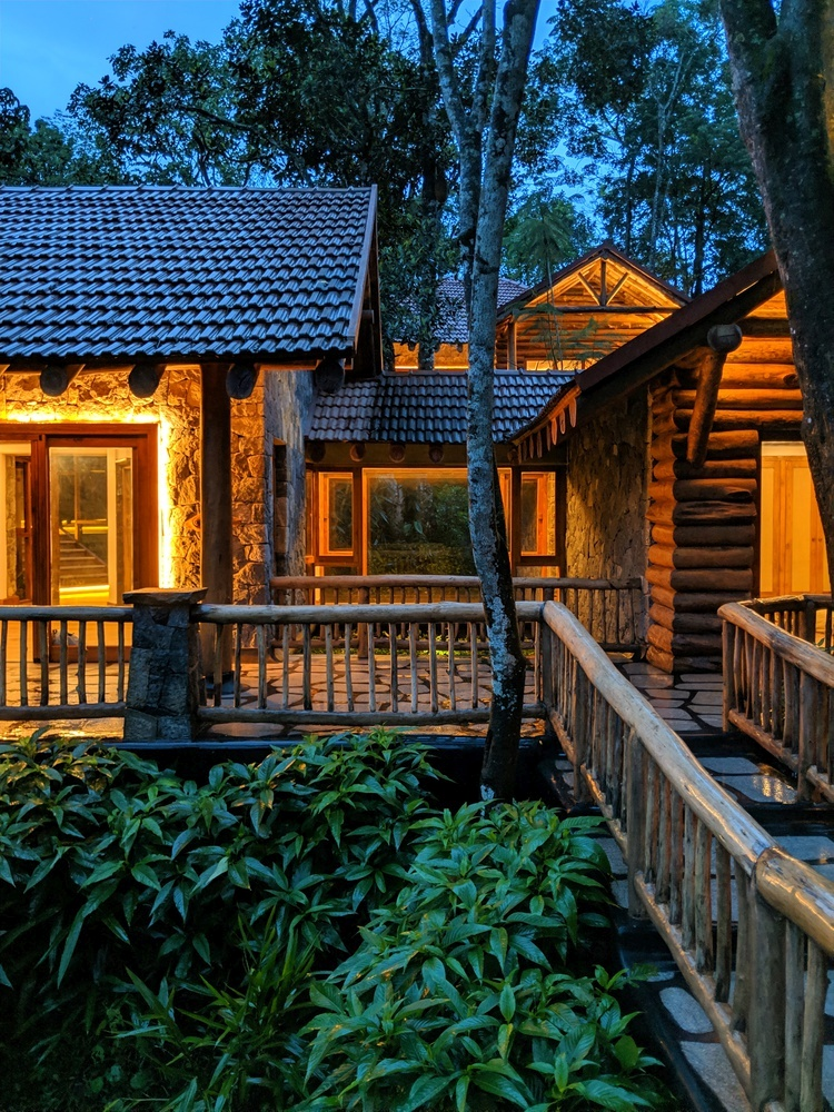 The dwellings look super inviting and cozy and they glow beautifully at night