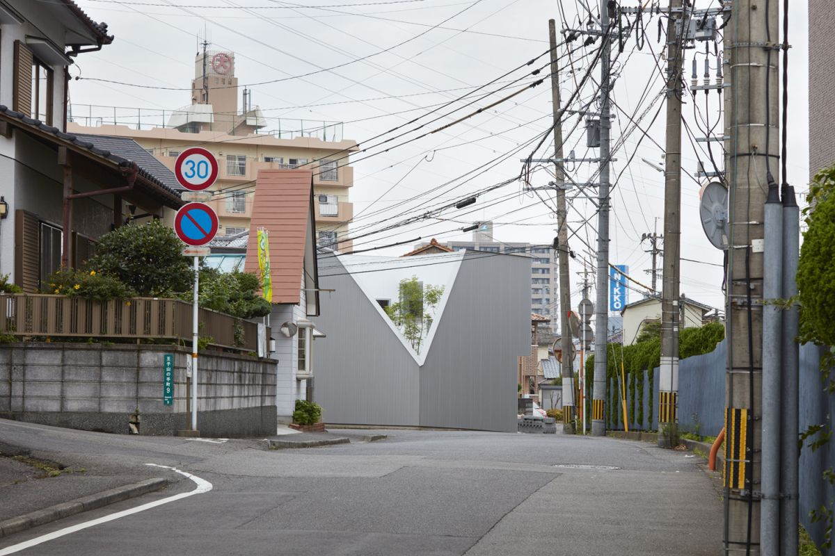 Street View of The OJI House