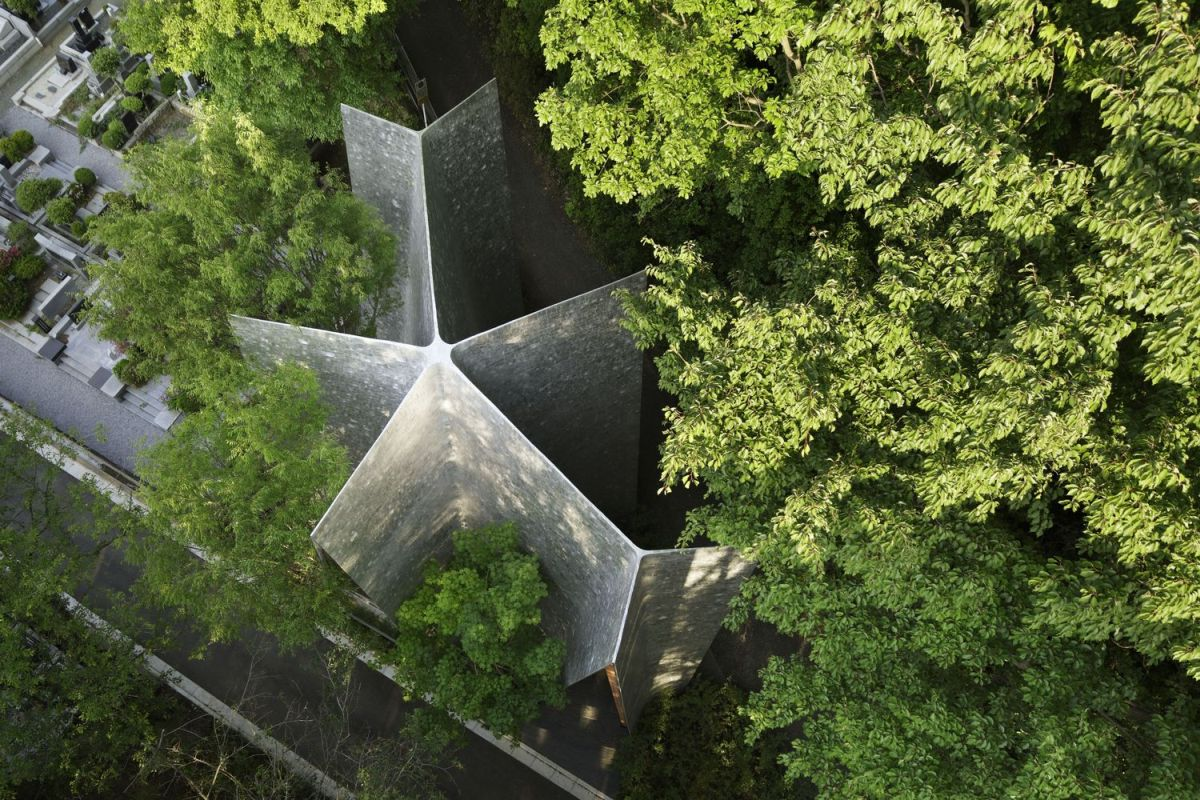 The Sayama Forest Chapel