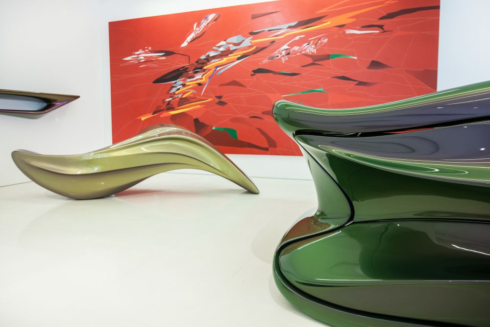 The Seamless Collection by Zaha Hadid Architects Concept design