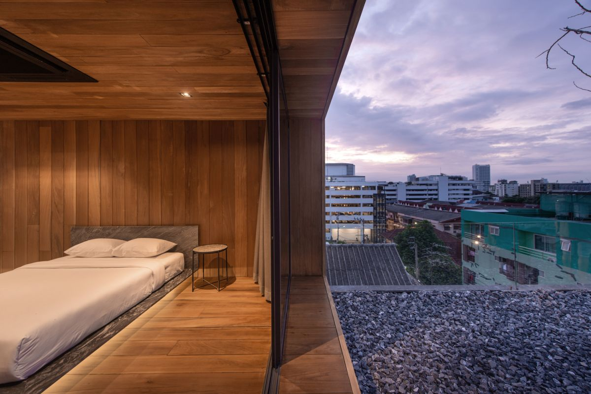 In total this rooftop house offers 150 square meters of living space in a very charming package