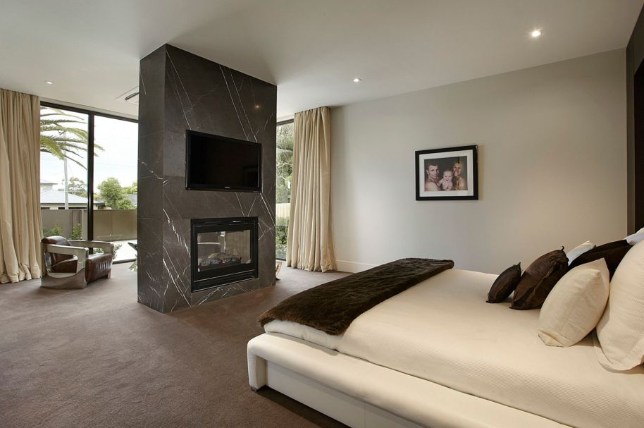 The charm of a fireplace can make any space feel welcoming and comfortable