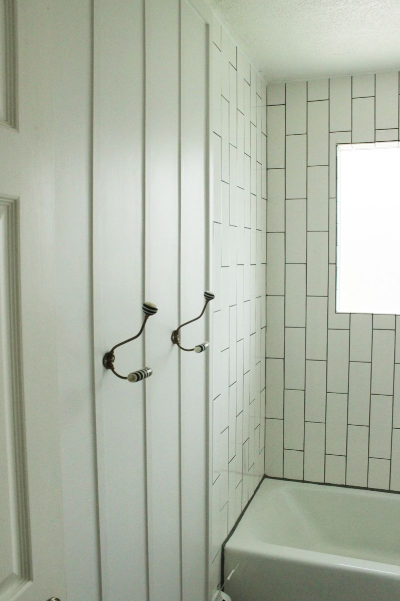 These hooks had to be high enough on the wall