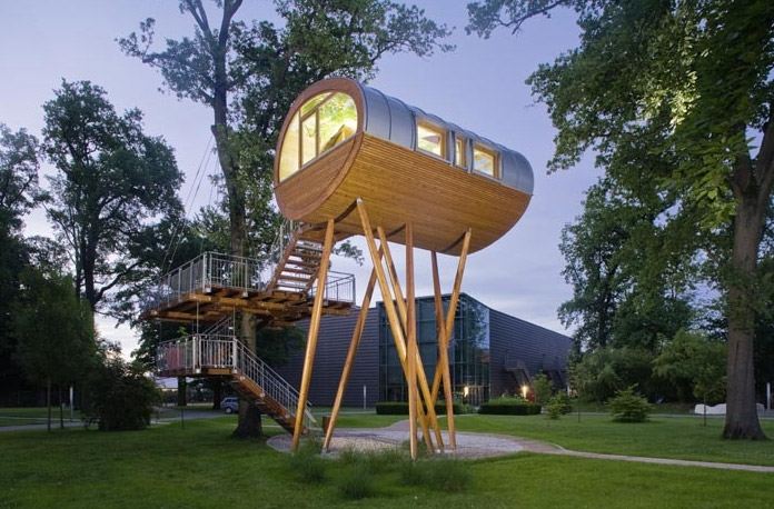 Treehouse living Germany