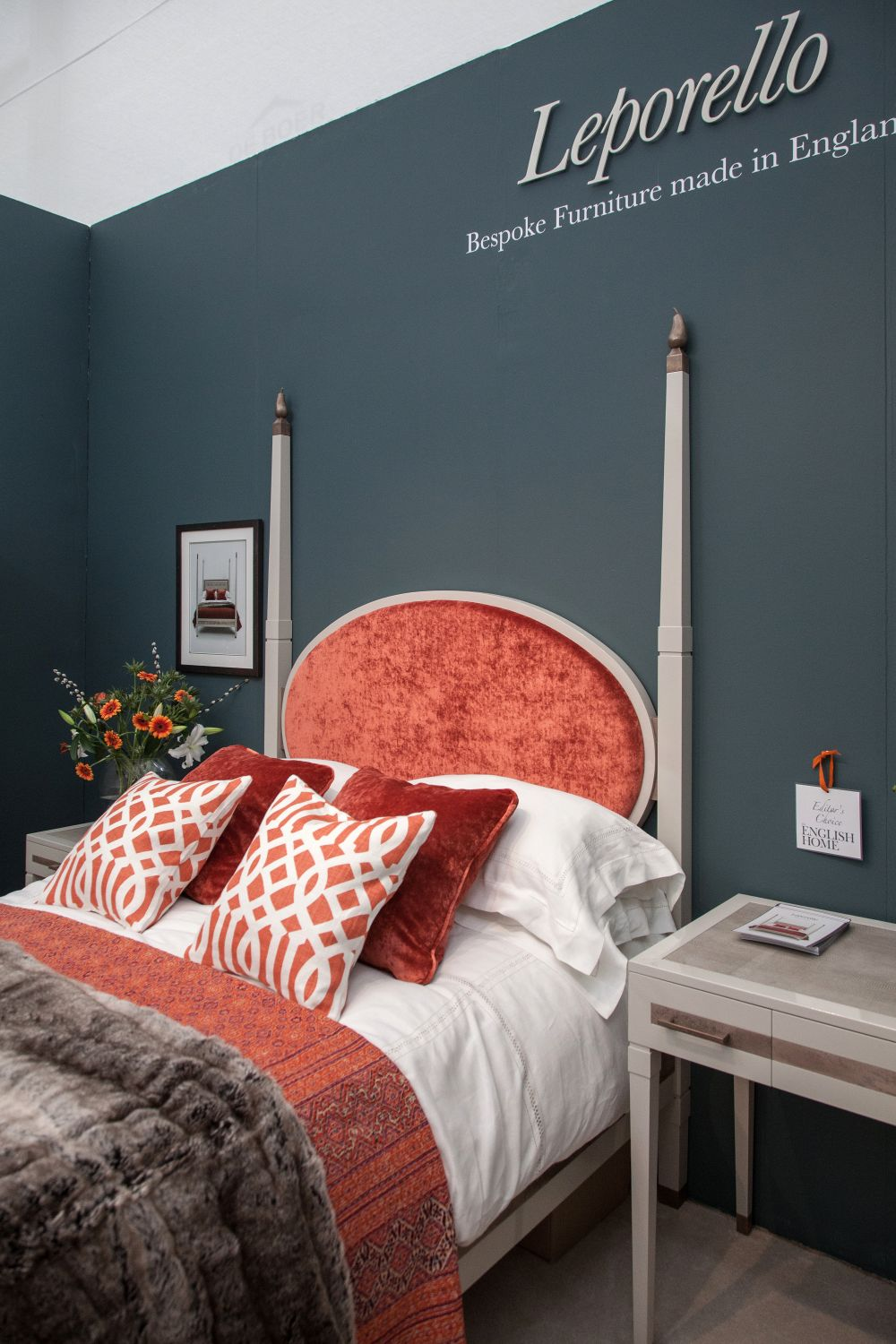 The bed can be the focal point of the room, especially if its design makes that easy