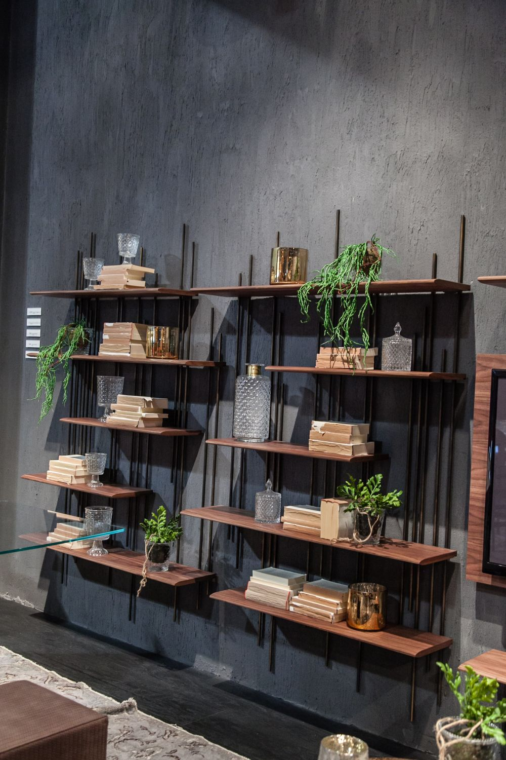 There are lots of different types of shelves to choose from. Base your decision on the style that you prefer