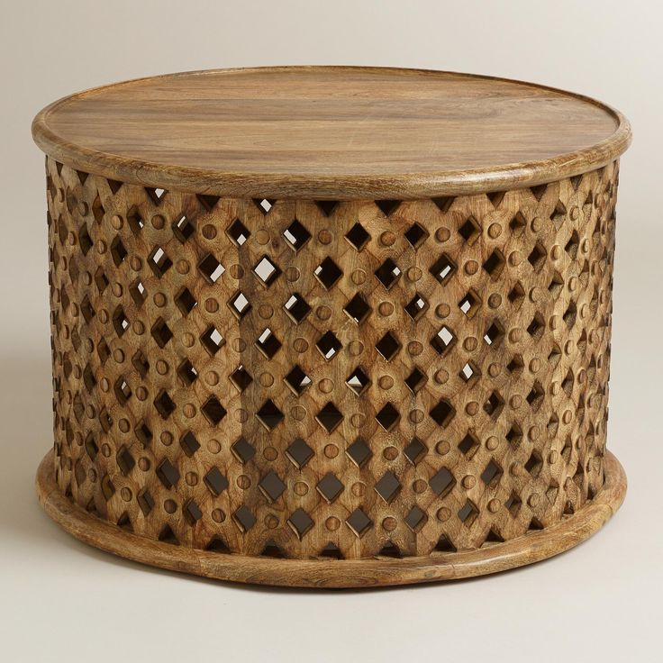 buy carved coffee table