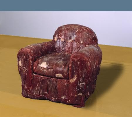 Meat Chair, 13 Home Furnishings that are Seriously Wrong
