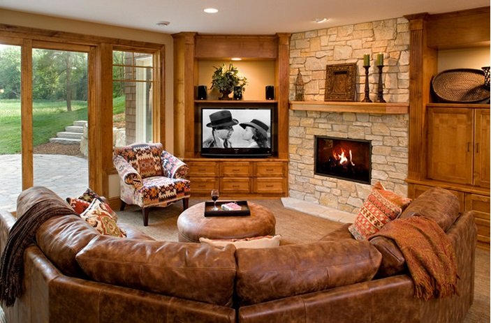 corner-TV-and-matching-sectional