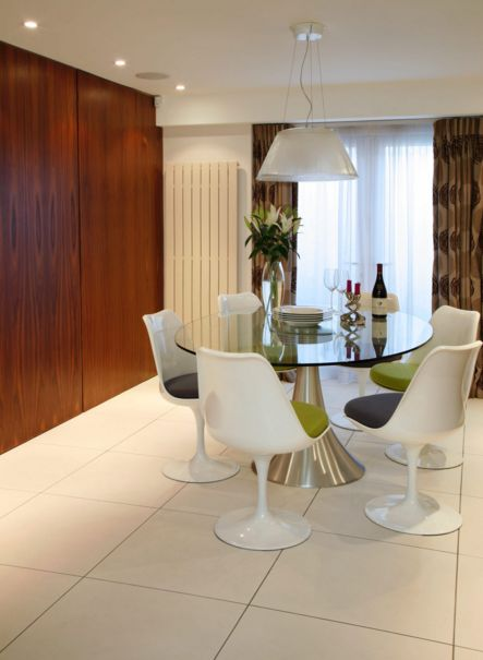 iconic chairs for a round dining table