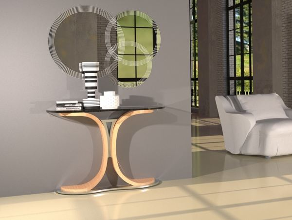 mistral-console-table