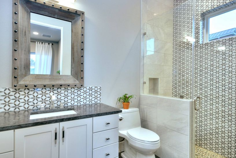 rustic and extremely versatile mirror